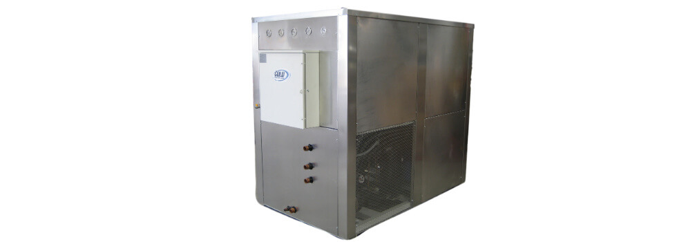 air-cooled chiller and water-cooled chiller - png of water-cooled unit