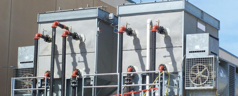 cooling tower vs. evaporative condenser
