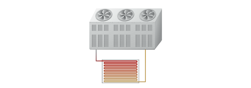 difference between evaporative condenser and cooling tower