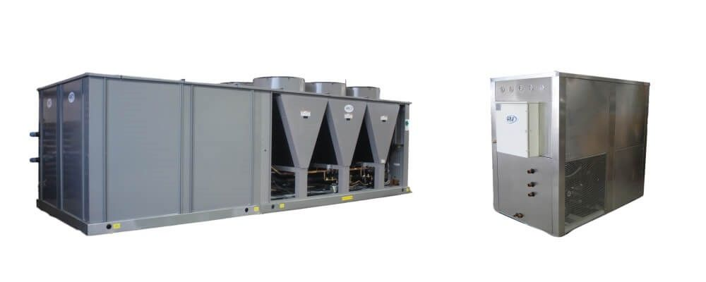 Types of Chiller Units